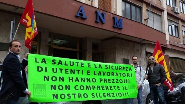 Napoli, la rivolta imminente degli autisti Anm