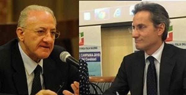 """Campania, Caldoro scrive a Mattarella: """"nominare  un commissario al posto di De Luca per gestire emergenza"""""""