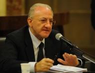 """Sanità e quota 100, altra promessa di De Luca: """"Giovani medici nei pronto soccorso"""""""
