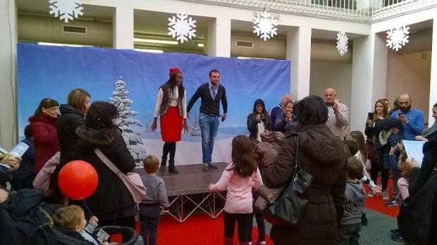 Mostra d'Oltremare, taglio del nastro al Santa Claus Village