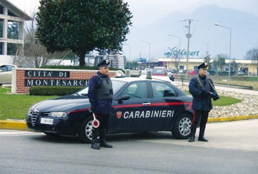 Montesarchio, due arresti e due denunce dai carabinieri