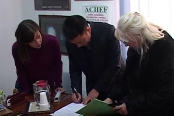 Dalla Cina per imparare i segreti di pizza e pasticceria napoletana, firmato l'accordo