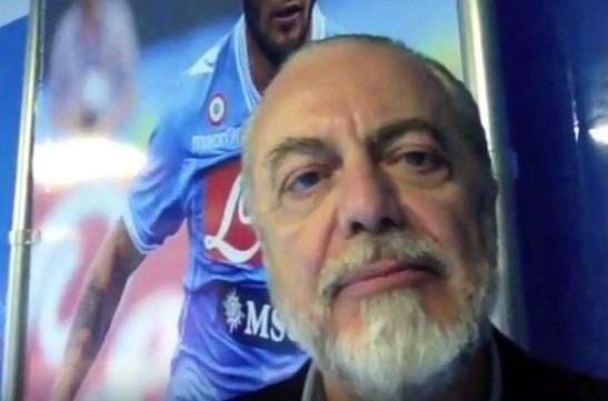 """E De Laurentiis annuncia Tonelli: """"Lui è il primo acquisto"""""""