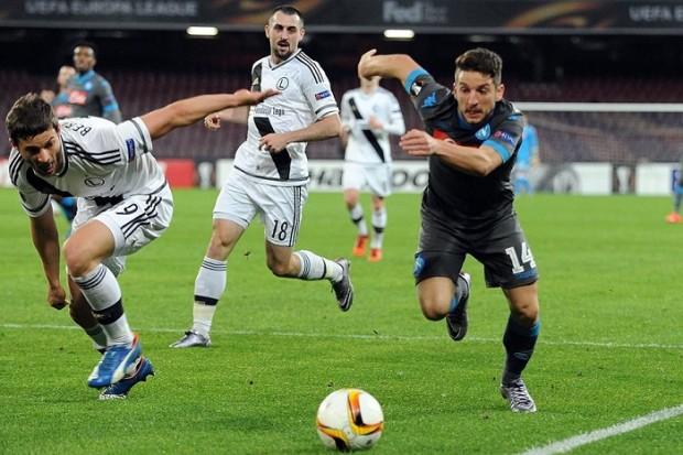 Solo vittorie per il Napoli europeo, al Legia ne fa cinque