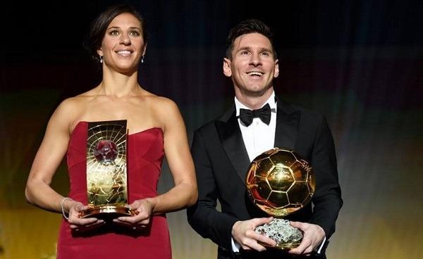 Che sorpresa: Messi è Pallone d'oro per la quinta volta