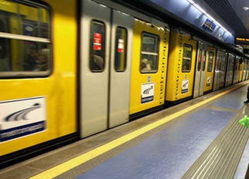 Napoli: furto di rame, limitata circolazione sulla linea 1