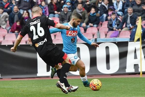 L'Empoli si illude, il Napoli dilaga e comanda ancora il campionato
