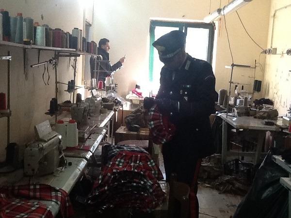 San Gennaro Vesuviano: controlli anti sfruttamento clandestini, denunciati 2 imprenditori tessili