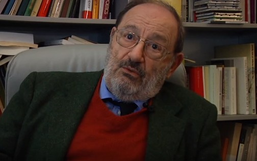 Grave lutto per la cultura: è morto Umberto Eco, l'intellettuale totale