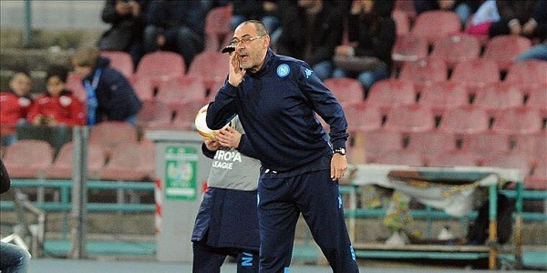 "La diagnosi di Sarri: ""Sfortuna, ma pure troppa frenesia"""