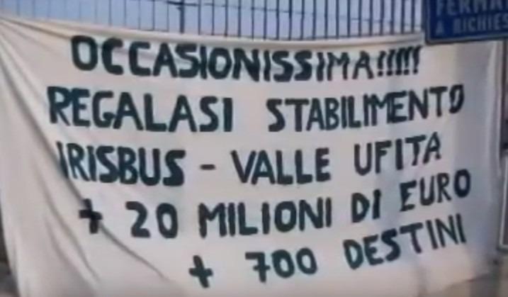 """Vertenza ex Irisbus, riecco le promesse dei politici: """"25 milioni e ricapitalizzazione"""""""