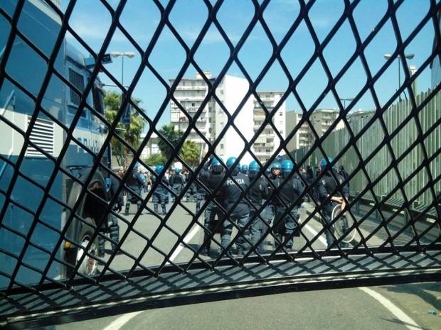 Sentenza per l'omicidio Bifolco, corteo e tensione al tribunale di Napoli