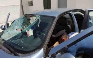 carabinieri_parabrezza_sfondato_omicidiostradale1_casoria_ildesk