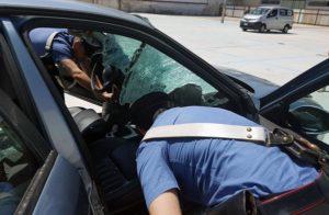 carabinieri_parabrezza_sfondato_omicidiostradale2_casoria_ildesk