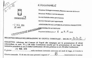delibera_comune_napoli_no_referendum_costituzionale_ildesk