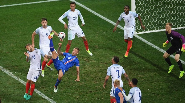 Islanda dalla favola alla storia: butta fuori l'Inghilterra e vola ai quarti