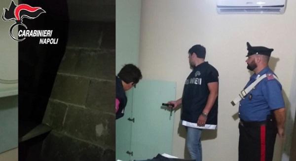 Boscotrecase, si nascondeva in una nicchia: catturato latitante di camorra- Video