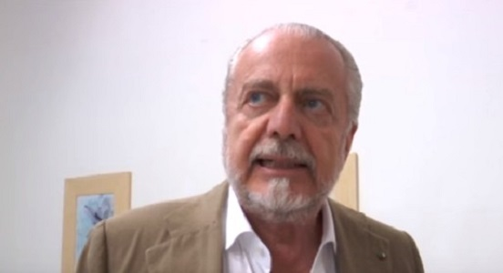 """Sostituto di Milik, De Laurentiis chiude: """"Rosa competitiva, ai nuovi serve troppo tempo per inserirsi"""""""