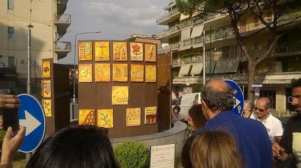 Capodimonte, un'opera d'arte realizzata da ragazzi per rilanciare il turismo