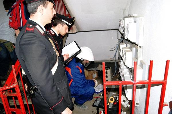Furto di energia, denunciati 8 titolari di negozi nel cuore di Vomero e Arenella