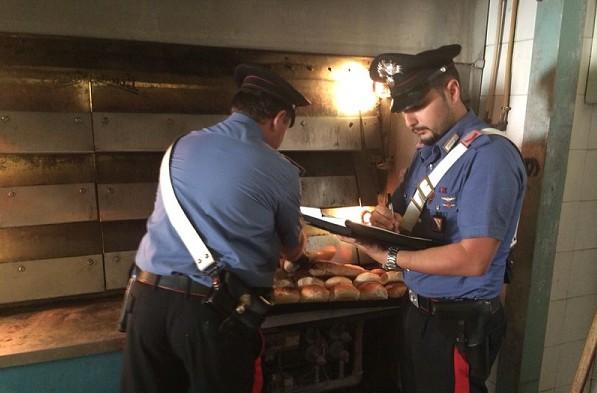 Marianella, blitz in panificio: sequestrati 280 kg di pane in cattive condizioni igieniche