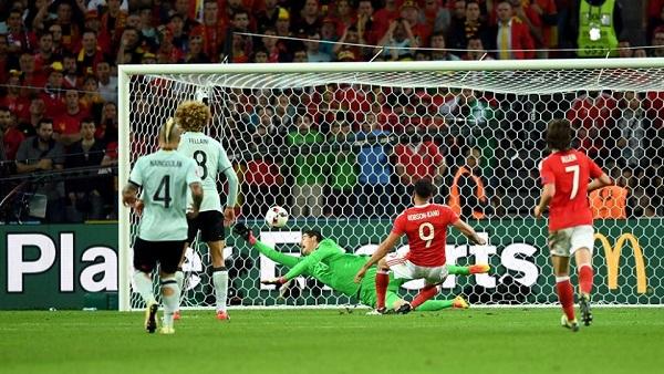 Galles dei miracoli, rimonta il Belgio e conquista le semifinali