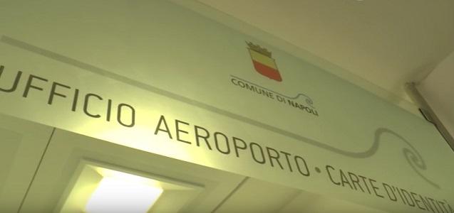 Aeroporto Capodichino, via al rilascio di carte d'identità per viaggiatori – Video