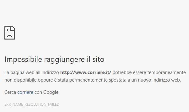 Attacco hacker, ko per ore i siti di Corriere e Gazzetta