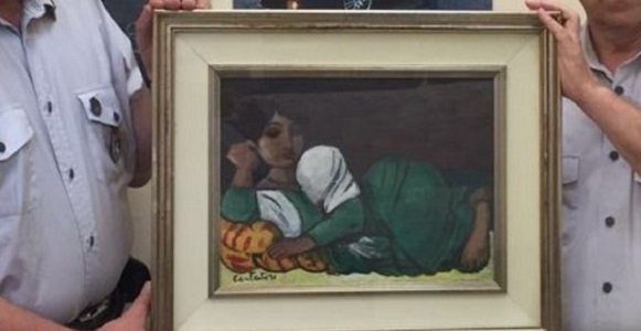 Marano, recuperato quadro di valore trafugato