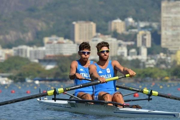 Olimpiadi canottaggio, bronzo al 2 senza stabio-napoletano di Abagnale e Di Costanzo