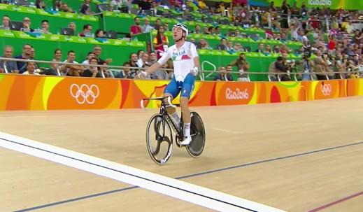 Ciclismo su pista, Viviani è oro