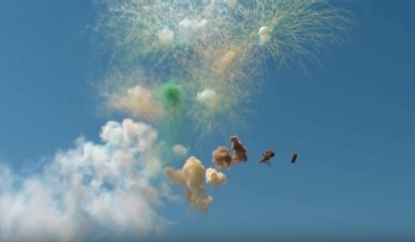 San Giovanni a Piro, fuochi d'artificio partono per errore: zona incendiata