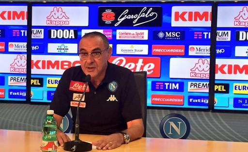 """Via al campionato, Sarri ammette subito: """"Più ampio divario tra Juve e le altre"""""""