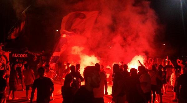 Scontri Inter-Napoli, 5 condanne e un patteggiamento