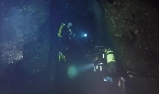 Palinuro, nessuna traccia di corpi dei sub