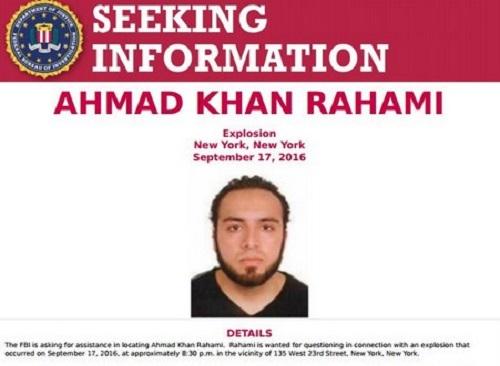 """Bombe New York, caccia a 28enne afgano: """"Si teme cellula terrorista attiva"""""""