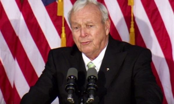Addio Arnold Palmer, mito del golf