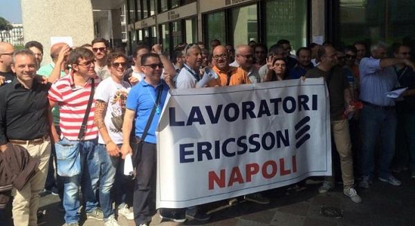 Ericsson continua a licenziare a Napoli
