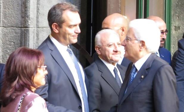 Scontro Renzi-de Magistris, Mattarella media per un incontro a breve