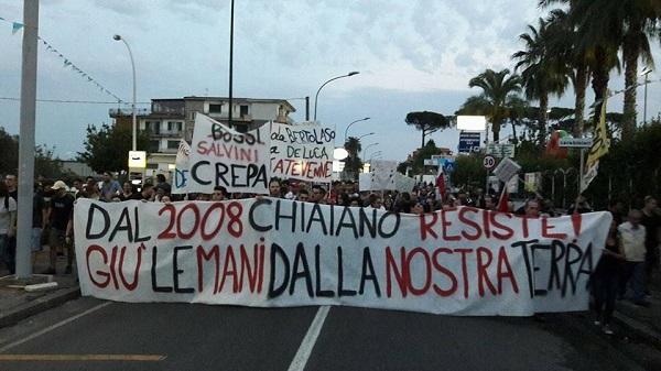 Chiaiano, assemblea pubblica del comitato anti discarica