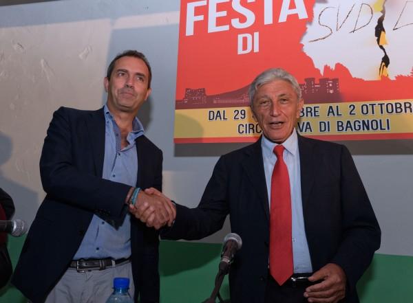 """Bassolino-de Magistris, la strana coppia: """"Bagnoli, ridare l'urbanistica al Comune"""""""