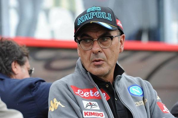 """Sarri promuove il Napoli e difende Gabbiadini: """"Ha bisogno di ritrovarsi"""""""