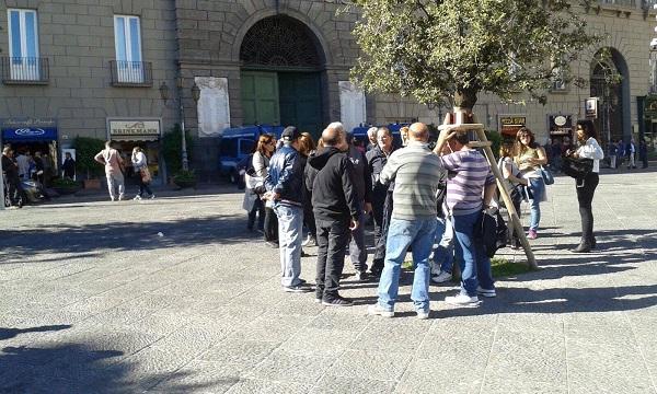 Napoli Servizi, stop all'assorbimento dei dipendenti di Napoli Sociale: scatta la protesta