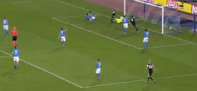 Napoli-Besiktas 1-2 al 45′: ancora errori, azzurri costretti a inseguire
