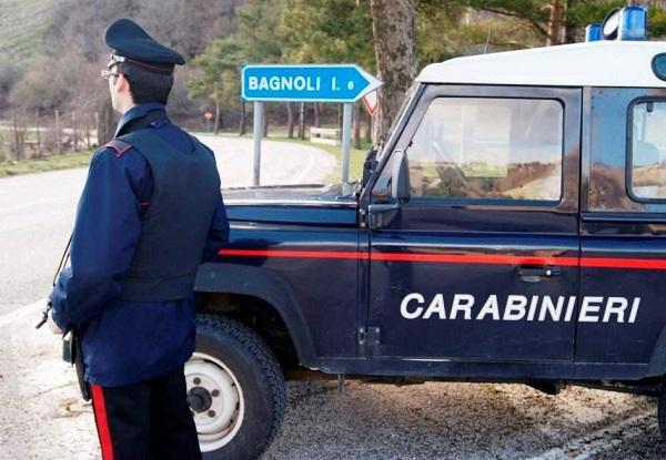 Bagnoli Irpino, litiga con l'amico alla sagra e danneggia auto dei carabinieri: denunciato