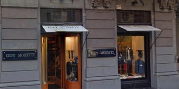 Napoli, svaligiata la boutique di Monetti in via dei Mille