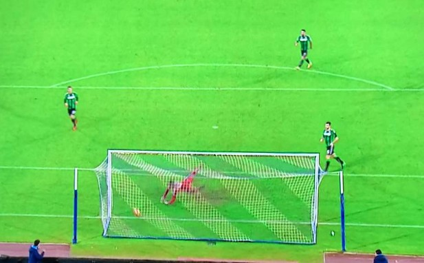 Napoli-Sassuolo 1-0 al 45′: sblocca un eurogol di Insigne
