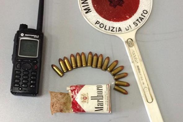 Napoli, sequestrate 15 cartucce ai Quartieri Spagnoli