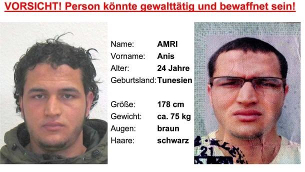 Strage Berlino, caccia ad Amri: fermate 4 persone in contatto con lui