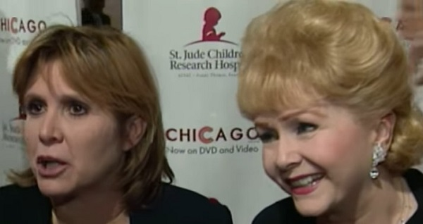 L'attrice Debbie Reynolds muore 24 ore dopo la figlia Carrie Fisher